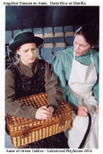 Angelica Duncan as Anne Shirley and Dana Rice as Marilla Cuthbert in Anne of Green Gables