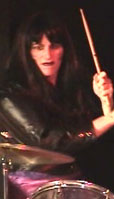Dana as Wendy as Charmin on Drums