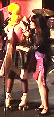 Wendi convincing Jetta to sing in AngryHousewives - Spring 2003